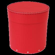 Raudona-dėžutė-gėlėms