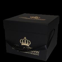 Royal-flowers-dėžutė-juoda